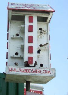 Fine birdhouse at a farm stand near the Everglades