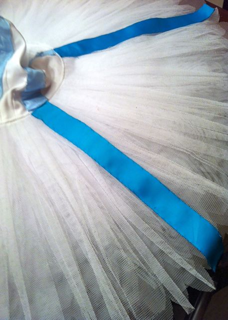 Tutu, up close; a kind of artistry in itself